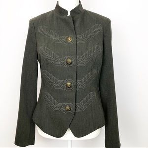 Embroidered CAbi Jacket Conductor Military Style
